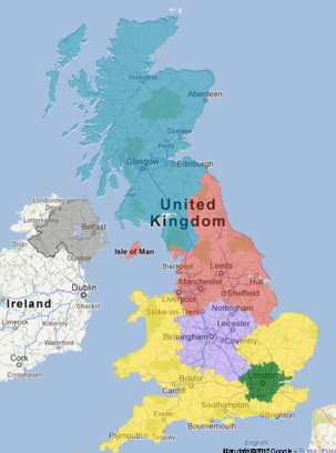 Channel HD UK Free TV - United kingdom map hd