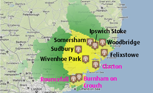 Sudbury transmitter group