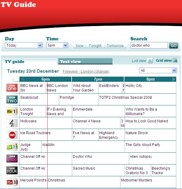 Freeview tv guide iphone & ipad review youtube.